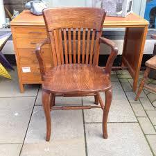 vintage oak chair antique oak office chair