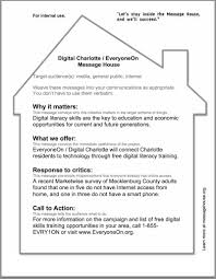 message house examples digital charlotte message house example
