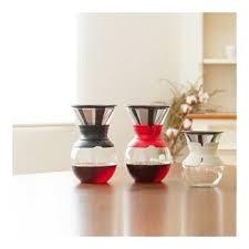 <b>Кофейник</b> с фильтром Bodum <b>Pour Over</b>, 1л, красный купить от ...