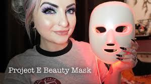Project E Beauty <b>LED</b> Rejuvenation <b>Mask</b> Review - <b>Photon Therapy</b> ...