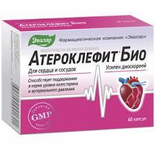<b>Атероклефит Био</b>, Эвалар, <b>60</b> капсул - купить, цена, инструкция ...