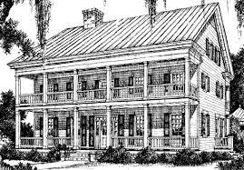 Lousiana Plantation   William H  Phillips   Southern Living House    Lousiana Plantation   William H  Phillips   Southern Living House Plans