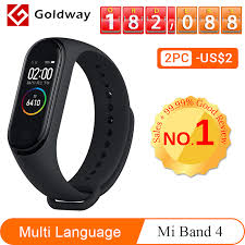 <b>Xiaomi Mi Band 4 Smart</b> Bracelet 3 Color AMOLED Screen Miband ...
