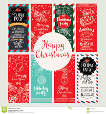 christmas party invitation holiday card stock vector image christmas party invitation holiday card