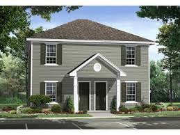 Duplex Floor Plans  amp  Duplex House Plans   The House Plan ShopPlan M