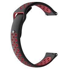 Watch Bands for Tic Wacth C2, <b>Silicone</b> Replacement Strap <b>18</b> ...