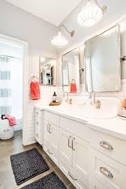 jill bathroom configuration optional: kids bathroom complete with ample lighting and crisp clean design details including redland sconces and bingham