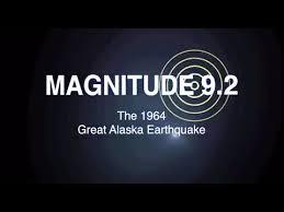 「1964、Great Alaskan Earthquake」の画像検索結果