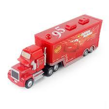 <b>Disney Pixar Cars 2</b> 3 Lightning McQueen Mack Uncle Truck ...