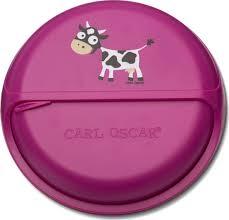 <b>Ланч-бокс для перекусов</b> SnackDISC Spider Cow фиолетовый