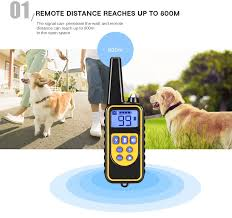 Dog Supplies <b>880 800m waterproof</b> rechargeable remote control ...