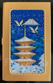 <b>Визитница</b> с изображением японской культуры Япония ...