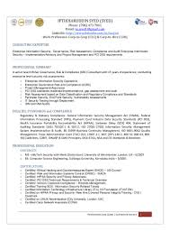 i syed sr consultant enterprise information security governance