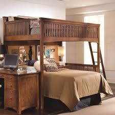 industries mission bedroom queen bed slat lea industries elite crossover full loft bed