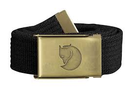 <b>Ремень Fjallraven Canvas Belt</b> 3 cm Black
