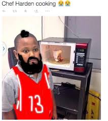 James Harden Roasted By Based God Memes After Game 2 via Relatably.com