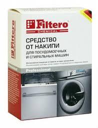 <b>Средство от накипи Filtero</b> для СМ и ПММ 601: купить за 285 руб ...