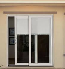 patio doors with blinds between the glass: builders wood sliding patio doors clad exterior blinds between the glass