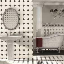 opulent black tile bathroom ideas regent black and white floor tiles offer an elegant option for most ro