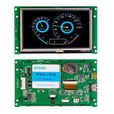 5 Inch TFT Small LCD Monitor <b>Controller</b> Touch Screen-in LCD ...
