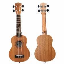 Strong Wind Ukulele <b>21 Inch</b> Soprano <b>Concert Ukulele</b> 4 Strings ...
