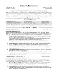 office manager resume objectives  seangarrette co   manager resume objective retail manager manager resume objective