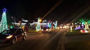 2017 Christmas Lights Display on Dunkirk Trail - YouTube