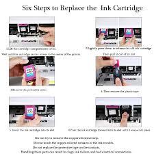 XiangYu <b>2 Pk</b> Ink Cartridges Compatible For <b>HP</b> 61 XL Envy 4500 ...