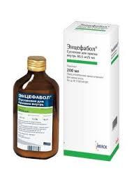 <b>Энцефабол</b>, 80.5 мг/5 мл, <b>суспензия</b> для приема внутрь, <b>200 мл</b>, 1 ...