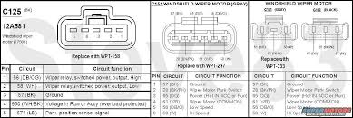 92 f150 wiper motor wiring diagram 92 wiring diagrams