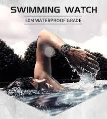 <b>SMAEL Mens Watch</b> Military <b>Waterproof</b> Sport Wrist <b>Watch</b> Digital ...