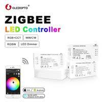 GLEDOPTO DC12-24V <b>RGB</b>+<b>CCT Zigbee</b> LED Controller,<b>Zigbee</b>...