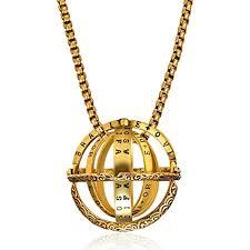 Gmai Lover Astronomical Sphere Ball Ring Necklace ... - Amazon.com