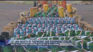 Thousands of dollars of fireworks stolen in Great Falls - KRTV News ...
