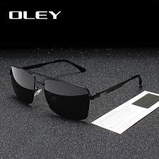 <b>OLEY</b> Brands Men's Rectangular Frameless <b>Polarized Sunglasses</b> ...