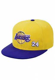 <b>Бейсболка</b> / <b>Mitchell & Ness</b> / NBA <b>Los Angeles Lakers</b> Вышивка 24 ...