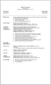 resume for nursing student com resume for nursing student for a job resume of your resume 11