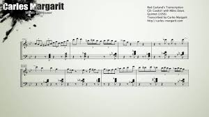 Blues by Five/<b>Red Garland's</b> Transcription (Right&Left hand ...