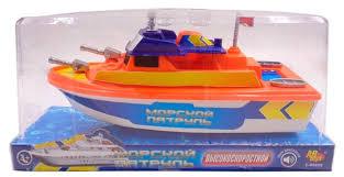 """<b>Игрушка для ванной ABtoys</b> Катер """"Морской патрул... — купить по ..."""