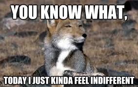 Indifferent Tibetan Fox memes | quickmeme via Relatably.com