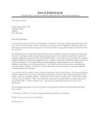 sample attorney cover letter cover letter database sample attorney cover letter