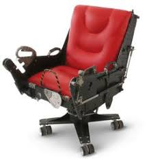 f 4 ejection seat desk chair made from the bucket seat of a real bucket seat desk chair
