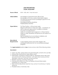 legal secretary job description resume recentresumes com gallery of legal secretary job description resume