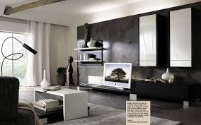 interior design living room black