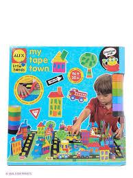 """Набор для поделок из цветной ленты """"Город"""" Alex 2131514 в ..."""