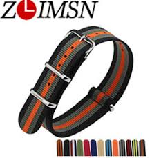 <b>ZLIMSN Mesh</b> Stainless Steel Watch <b>Band Strap Watchbands</b> Silver ...