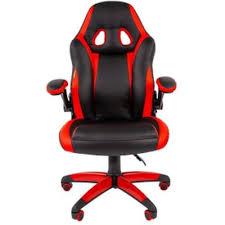 Игровое <b>кресло Chairman game 15</b> Black-Red