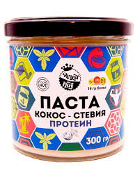 Купить кокосовую <b>пасту</b> с протеином и стевией в СПб