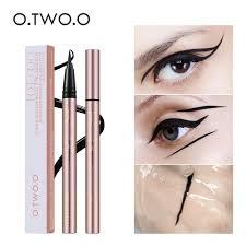 <b>O</b>.<b>TWO</b>.<b>O Professional Waterproof Liquid</b> Eyeliner Beauty Cat Style ...