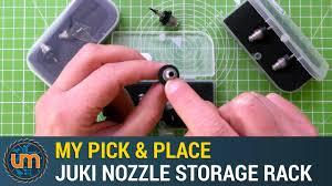 My Pick & Place - <b>Juki Nozzle</b> Storage Rack - YouTube